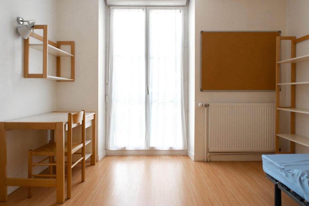 Exemple de chambre - Foyer Les Enfants des Arts