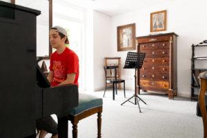 Répétition dans une salle de travail - Foyer étudiant Les Enfants des Arts