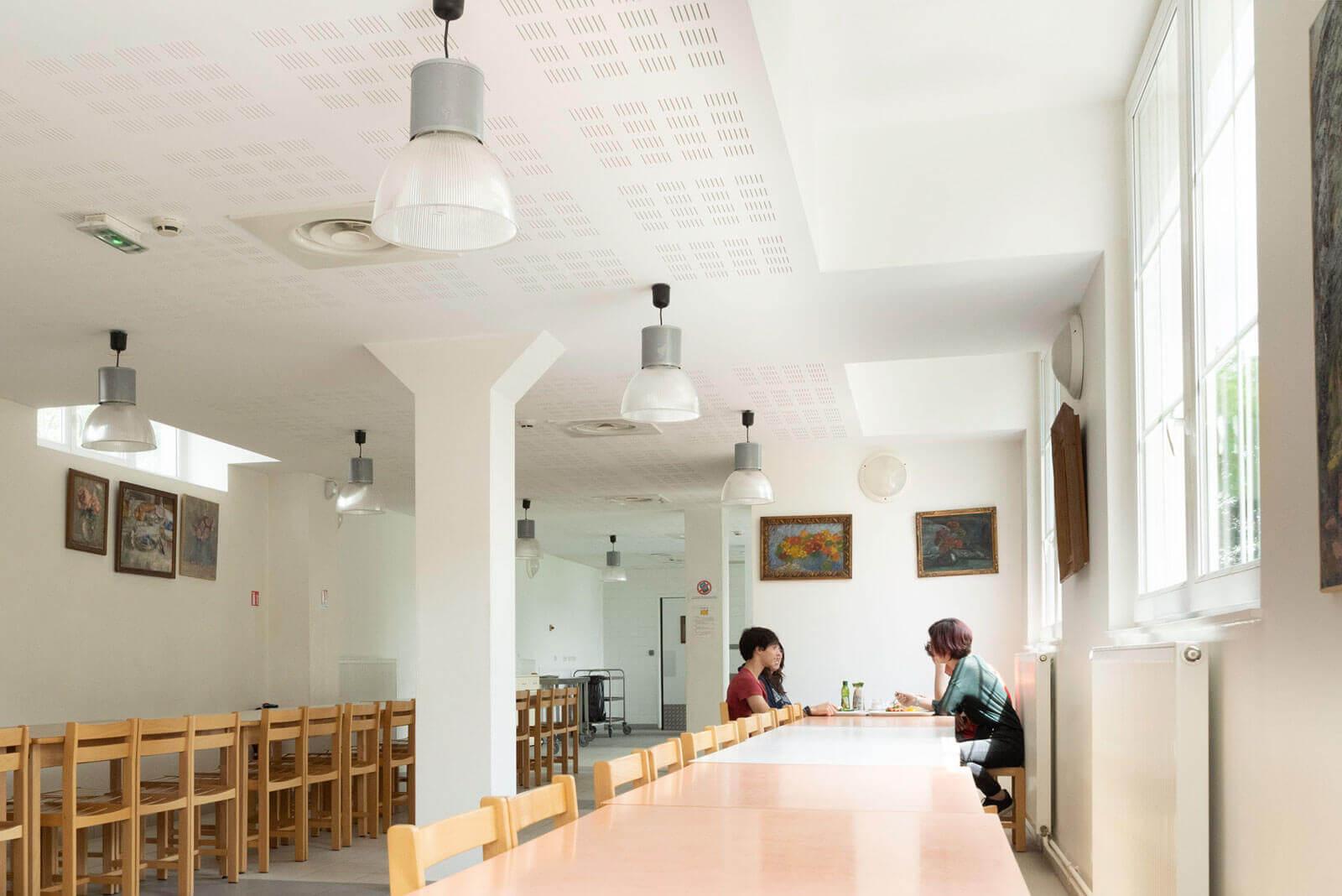 Salle à manger - Foyer étudiant Les Enfants des Arts