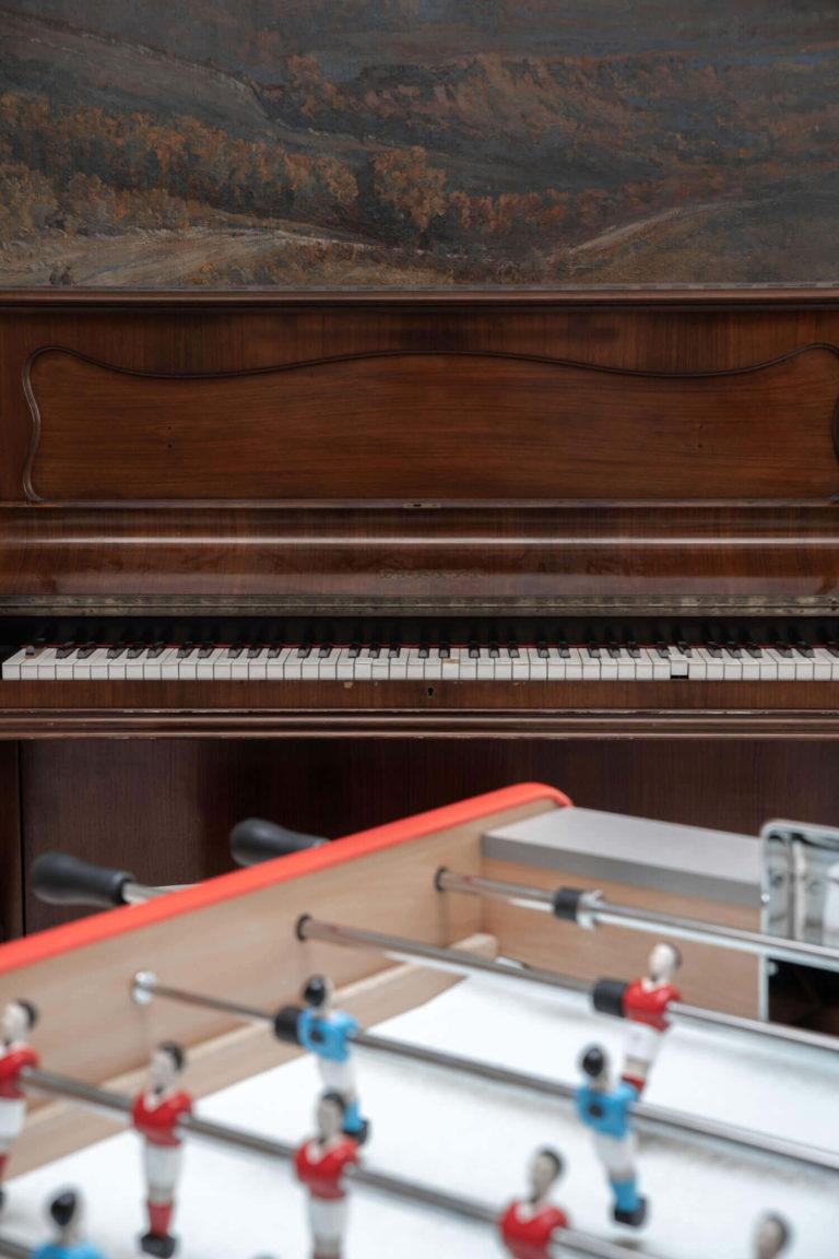 Piano et babyfoot